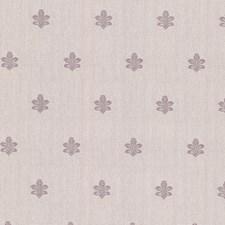 Lavender Fleur De Lis Wallcovering by Brewster
