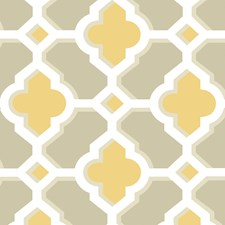 Mustard Wallcovering by Brewster