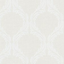 Light Grey Traditional Wallpaper Wallcovering by Brewster
