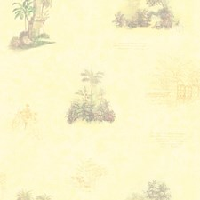 Light Yellow Wallcovering by Brewster