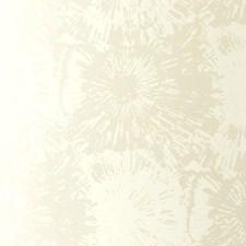 White Opal Wallcovering by Schumacher Wallpaper