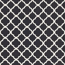 Black Wallcovering by Schumacher Wallpaper