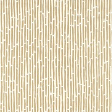 Gold Wallcovering by Schumacher Wallpaper