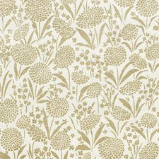 Gold Wallcovering by Schumacher