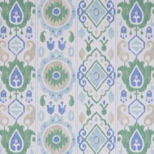 Green/amp/Blue Wallcovering by Schumacher Wallpaper