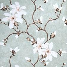 Jade Floral Wallcovering by Fabricut Wallpaper