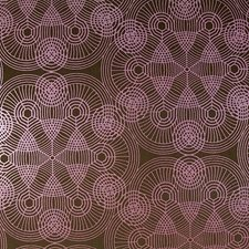 Brown/Pink/Purple Transitional Wallcovering by JF Wallpapers