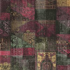 Burgundy/Red Transitional Wallcovering by JF Wallpapers