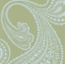 Pale Bl/Gn Sidewall Wallcovering by Cole & Son Wallpaper
