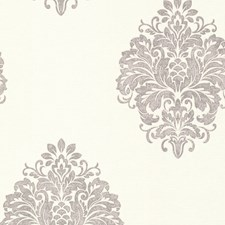 671-68502 Duchess Silver Damask by Brewster