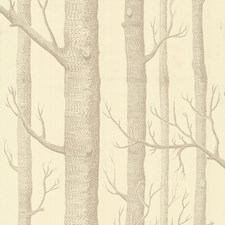 Beige/Cream Wallcovering by Cole & Son Wallpaper