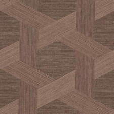 Rich Umber Wallcovering by Phillip Jeffries Wallpaper