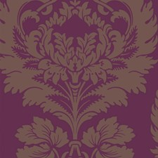 Plum Wallcovering by Cole & Son Wallpaper