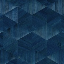 Sapphire Symphony Wallcovering by Phillip Jeffries Wallpaper