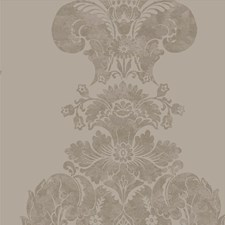 Mole/Silver Wallcovering by Cole & Son Wallpaper