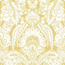 French Yellow and Ivory Wallcovering by Cole & Son Wallpaper