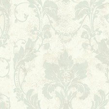 Light Blue Transitional Wallpaper Wallcovering by Brewster