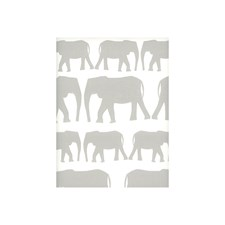 Taupe Animal Wallcovering by Andrew Martin Wallpaper