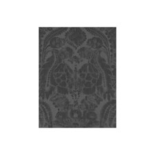 Charcoal Damask Wallcovering by Andrew Martin Wallpaper
