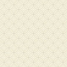 Beige/White Dots Wallcovering by York