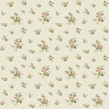 Pearl/Ecru/Peach Floral Wallcovering by York