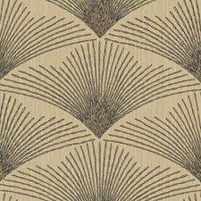 Beige/Black/Tan Novelty Wallcovering by York