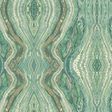 Greens/White/Tan Novelty Wallcovering by York