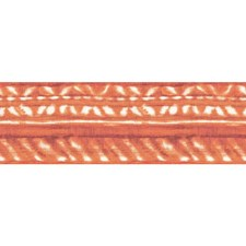 Orange/White Bohemian Wallcovering by York