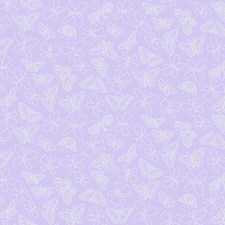 Purple/Silver Animals Wallcovering by York