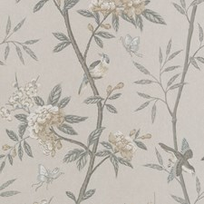 Dove/Silver Wallcovering by G P & J Baker