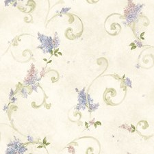 Blush Traditional Wallpaper Wallcovering by Brewster