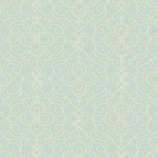 Light Blue Traditional Wallcovering by York