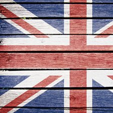 CR-67217 Union Jack Kitchen Panel Decal by Brewster