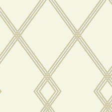 CY1508 Ribbon Stripe Trellis by York