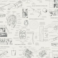 DI0937 Marvels Heroes Schematics by York