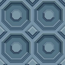 DI4744 Coffered Octagon by York