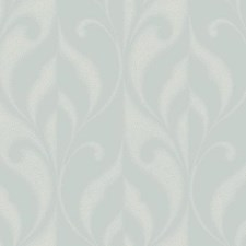 Iced Silver/Powder Snow Traditional Wallcovering by York