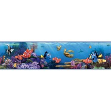 Turquoise/Bright Blue/Orange Sure Strip Wallcovering by York