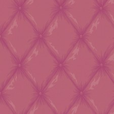 Metallic Bright Pink/Bright Pink/Magenta Trellis Wallcovering by York