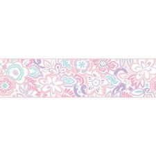 White/Pink/Peach Children Wallcovering by York