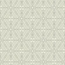 Grey/Cream Geometrics Wallcovering by York