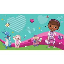 JL1396M Doc Mcstuffins And Friends Pre-Pasted Mural by York