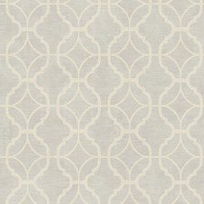Silver Sheen/Cream Geometrics Wallcovering by York