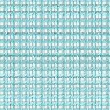 Aqua Blue/White Check Wallcovering by York
