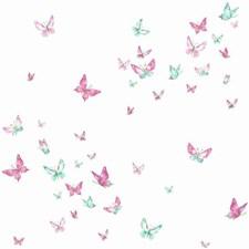 KI0523 Watercolor Butterflies by York