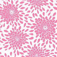Pink Pearl/Pink Frost/Snow Floral Wallcovering by York