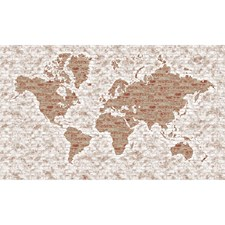 LG1405M World Map Mural by York