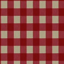Beige/Red Plaids Wallcovering by York