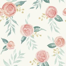 MK1126 Watercolor Roses by York