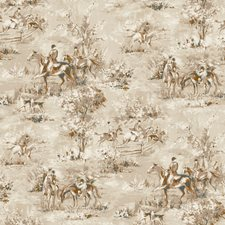Beige/Tan/White Scenic Wallcovering by York